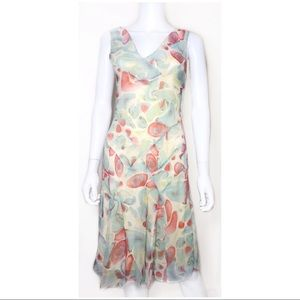 Diane von Furstenberg Clea Silk Dress Size 2 0035